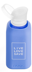 LLS Blue Palm 500ml - Live Love Save collection - botella de vidrio Nuoc