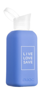 Blue Palm - Live Love Save collection - Botellas de vidrio Nuoc