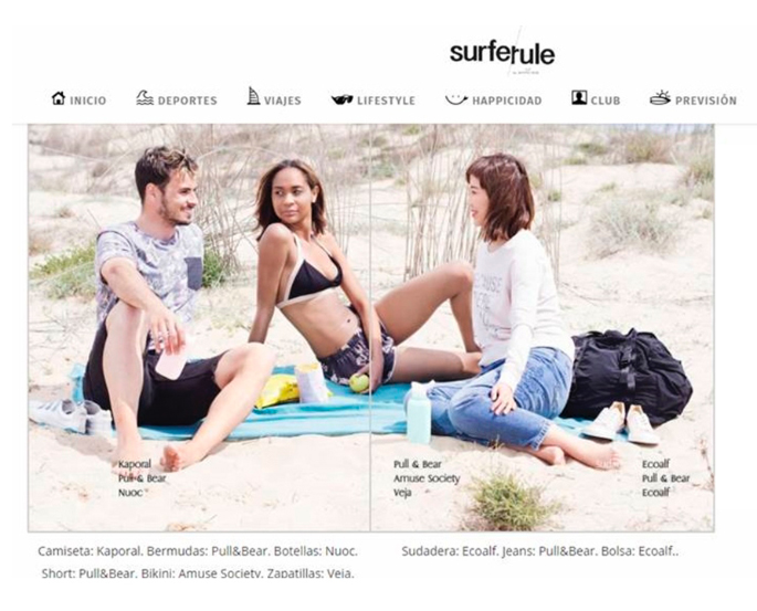 Nuoc life en la revista Surfer Rule